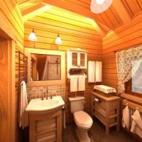 Разбираемся в тонкостях обустройства санузла в деревянном доме