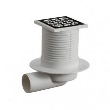 Трап канализационный ОриоТО-3210,(реш 10*10 метал) гориз,регул.