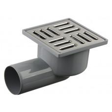Трап канализационный Ду 50 (реш 10х10 нерж), гор