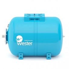 Бак для воды (гидроакк) WAO 24 (Wester) гориз.опора/4 выход на 25