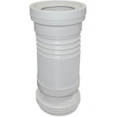 Гофра для унитаза  SPL 3581 110-250-570мм раздвиж.армирован./16
