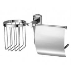 Держатель для туалетной бумаги и освежителя К-3059 хром WasserKRAFT