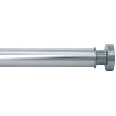 Карниз для ванной комнаты IDDIS 1.1-2м глянец хром 030А200I14
