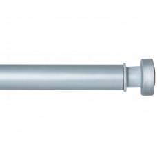 Карниз для ванной комнаты IDDIS 1.1-2м матовый хром 020A200I14