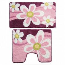 Набор ковриков для ванны Milardo 50х80+50х50 360РА68М13