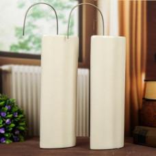 Арома-Увлажнитель Белая вазочка плоская двойная (2шт в комплекте)