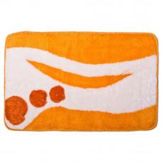 Коврик VETTA д/ванны акрил 50*80см Графика оранж 462-372