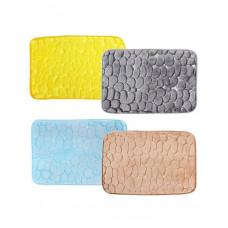Коврик VETTA д/ванны микрофибра 40*60см 4 цвета 462-526