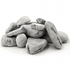 Камни для банных печей Талько-хлорид обвалованный (20кг. коробка)