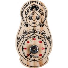 Термометр Матрёшка 9,5*17см. Банные штучки
