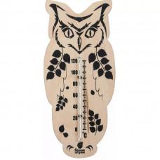Термометр Сова 16,6*7,5см. Банные штучки