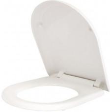 Сиденье для унитаза, универс., 001, дюропласт, Soft Clos, Easy Fix, IDDIS