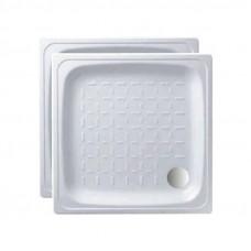 Поддон душ. стальн. эмальANTIKA белый 80*80*15 APS-8001