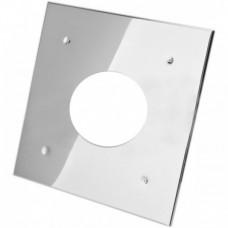 Экран защитный (430/0,5мм) 500*500 с отверстием ф210