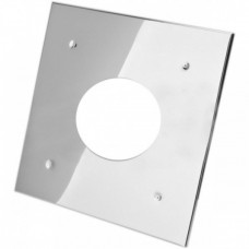 Экран защитный (430/0,5мм) 500*500 с отверстием ф200