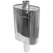 Бак Комфорт (AISI 201/1.0) эллиптический с трубой 70л ф115