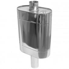 Бак Комфорт (AISI 201/1.0) эллиптический с трубой 50л ф115