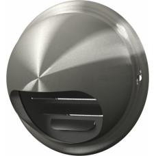 Выход стенной вытяжной вентиляционный металлический с фланц. D125 12,5ВМ