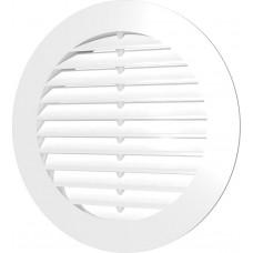 Решетка круглая наклонная D200, с фланцем D160/35