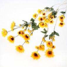 Декор тинги Полевые цветы 130см (цена за штуку)