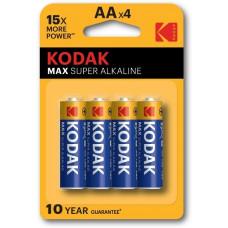Батарея KODAK MAX LR6-4BL (KAA-4U)