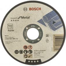 Круг отрезной Bosch по металлу 125х1мм, прямой