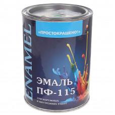 Эмаль Простокрашено ПФ-115 васильковая 0,9кг