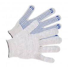 Перчатки х/б 10класс 4 нити без ПВХ белые