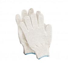 Перчатки х/б 10класс 5 нитей без ПВХ белые