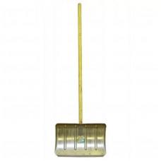 Лопата тротуарная ЛТР оцинк. 500х330 с планкой