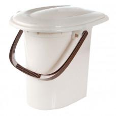 Ведро-туалет 16л. Микс 2459М