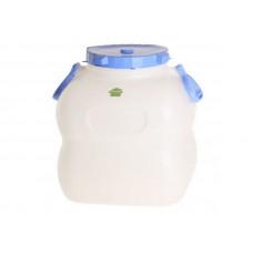 Емкость-Бочка 50,0л. с/р (Гранде) С911 бел-фиолет