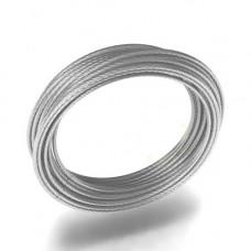 Трос метал. в изоляции ПВХ d-1/2*1м