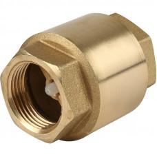 Клапан обратный 25 (пластик.сердечником)
