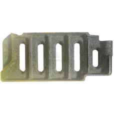 Щиток шуровочный дверцы КЧМ-5-К Комби (сталь №439)