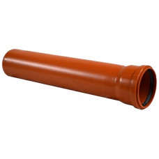 Труба канализационная раструбная 160*1000/4 (наружняя)