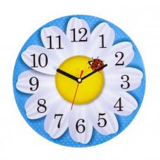 Часы Ромашка круглые 25см