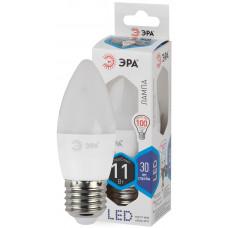 Лампа светодиодная Эра LEDsmd В35-11W-840-E27