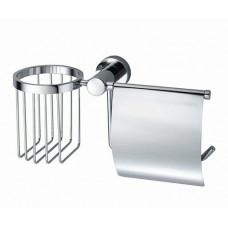 Держатель для туалетной бумаги и освежителя К-9459 хром WasserKRAFT