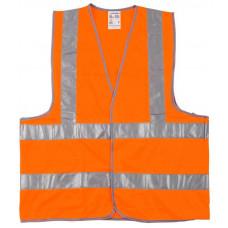Жилет сигнальный STAYER MASTER желтый,оранжевый XXL (52-54)