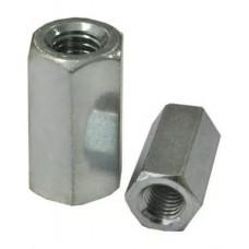 Гайка соединительная М8 цинк (удлиненная ) DIN6334