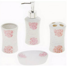 Набор для ванной Розарий, 4 предмета 870324