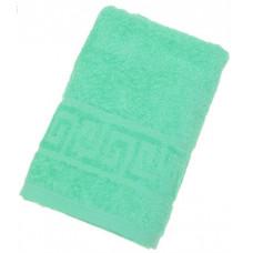 Полотенце махровое однотонное Антей молодая зелень100*180см 100%хлопок 789298
