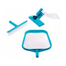 Набор для очистки бассейнов (скиммер/вакуум.головка) Intex 29056