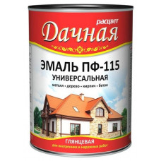 Эмаль Расцвет Дачная ПФ-115 луговые травы 1,9кг