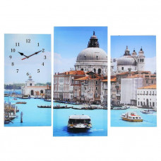 Часы настенные серия: Интерьер, модульные Венеция