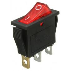 Переключатель клавиш IRS-101-1C3 RED 1-0