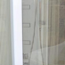 Стекло боковое горизонтальные полосы 1500*560
