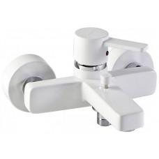 Cмеситель однорычажный ZENTA для ванны/душа, без аксессуаров (белый/хром)386709175