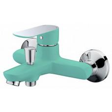 Смеситель Triton для ванны 16304L БИРЮЗОВЫЙ корот. излив,однорычажный /5679